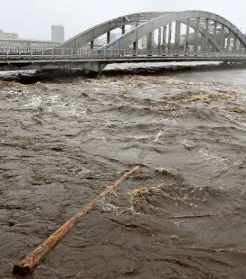 台風19号による艇庫浸水について